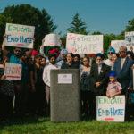 Sikh civil rights rally for hate crime survivor, Mr. Mukker