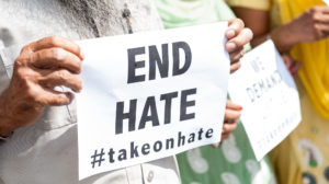 2016-January-End-Hate-Sign