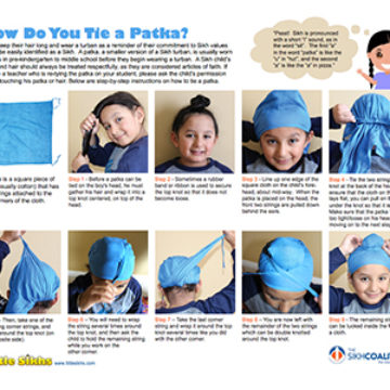 How Do You Tie A Patka?