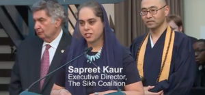 Sapreet Kaur Interfaith Center of NY Speech June 2017