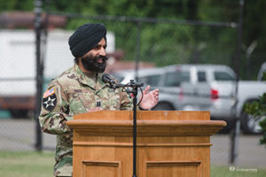 Captain Simratpal Change of Command Ceremony 2017