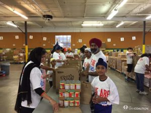 Cincinnati Sikhs Pack Meals for Day of Seva 2017