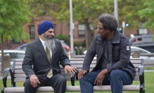 Kamau Bell and Harpreet Singh, United Shades of America