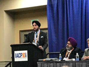 Sim J Singh attends DOJ Hate Crime Forum, October 2017