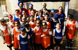 LA Clippers, Sikh Youth Group Photo